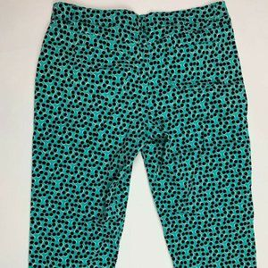 Madison Womens Crop Capi Pants Size 14 Stretch